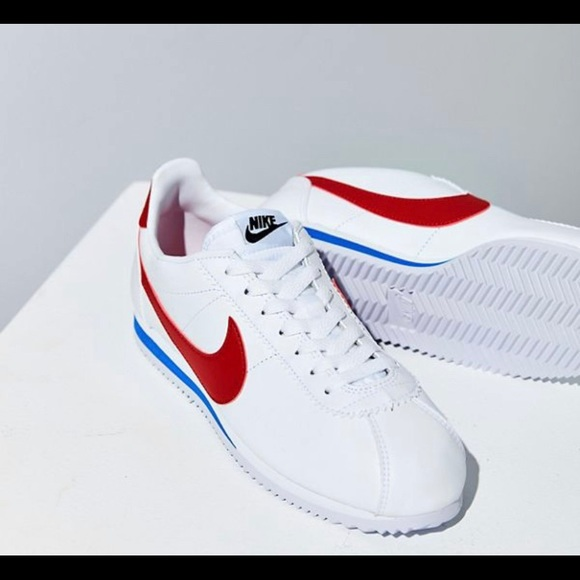 Nike Shoes | White Blue And Red Cortez